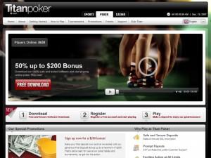 Titan Poker nya website