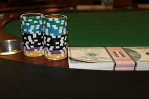pokermarker och pengar